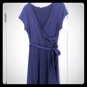 Pinkblush maxi dress blue gray L